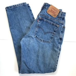Vintage Levi's 550 relaxed tapered leg Jeans
